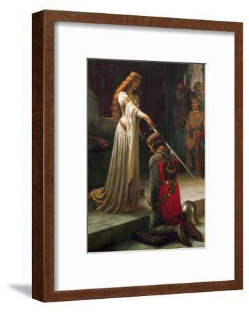 The Accolade, 1901-Edmund Blair Leighton-Framed Giclee Print