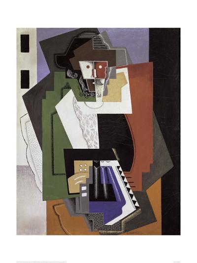 The Accordion Player-Gino Severini-Art Print