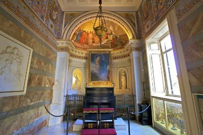 The Achilleion Chapel, Achilleion Palace, Corfu, the Ionian Islands, Greek Islands, Greece, Europe-Neil Farrin-Photographic Print