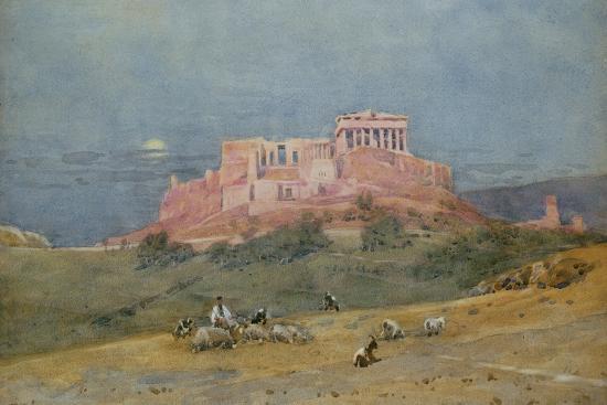 The Acropolis, C.1885-Robert Weir Allan-Giclee Print