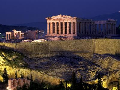 The Acropolis, Greece-Kevin Beebe-Photographic Print