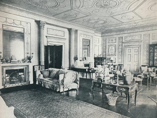'The Adam Salon, Stoke Edith', c1909-Unknown-Photographic Print