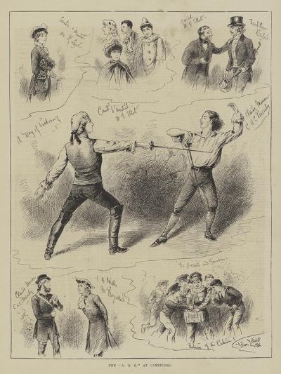 The Adc at Cambridge-John Jellicoe-Giclee Print