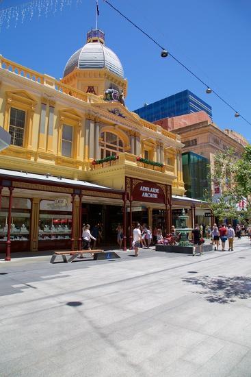 The Adelaide Arcade, Adelaide, Australia, Oceania-Frank Fell-Photographic Print