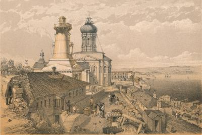 The Admiralty, Sebastopol, 1856-William Simpson-Giclee Print