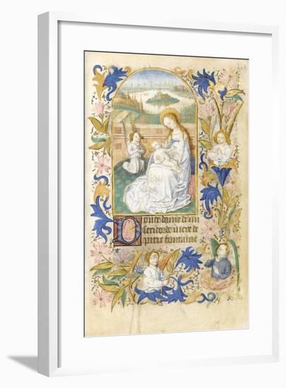 The Adoration, 1464--Framed Giclee Print