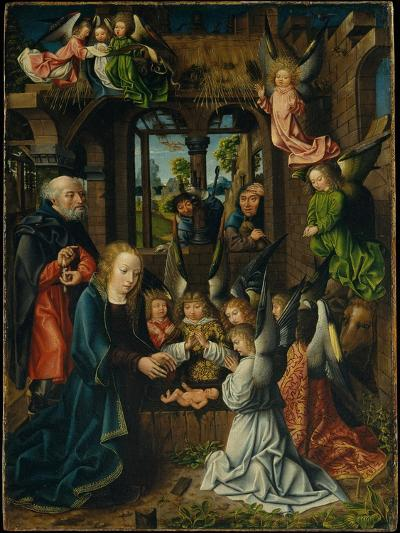 The Adoration of the Christ Child, c.1500- Master of Frankfurt-Giclee Print