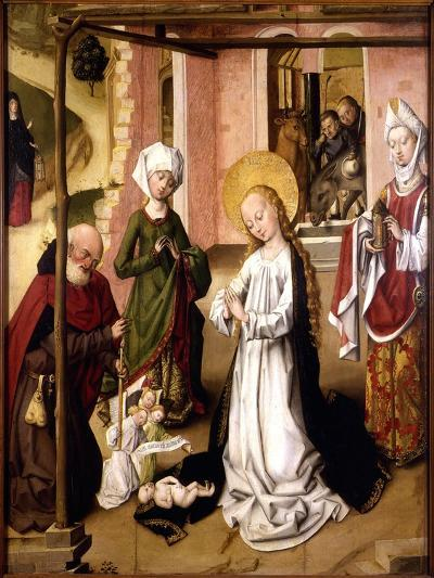 The Adoration of the Christ Child--Giclee Print