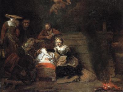 The Adoration of the Christ Child-Samuel Dirksz van Hoogstraten-Giclee Print