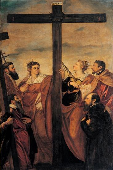 The Adoration of the Cross (St Helen--Giclee Print