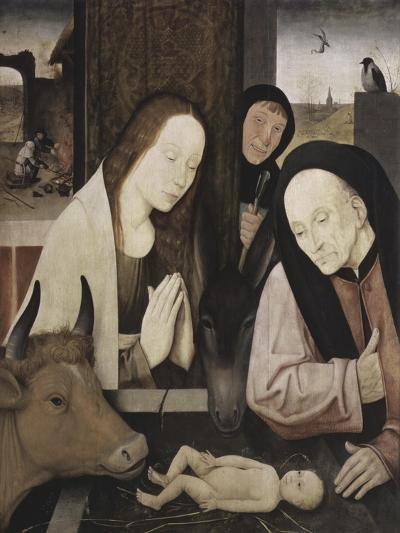 The Adoration of the Holy Child-Hieronymus Bosch-Giclee Print