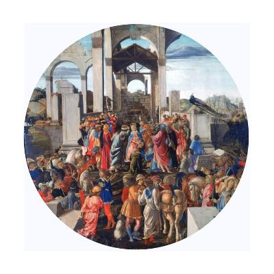 The Adoration of the Kings, C1470-1475-Sandro Botticelli-Giclee Print