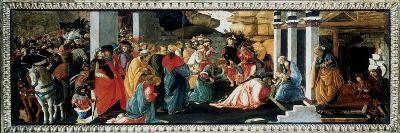 The Adoration of the Kings, C1470-Filippino Lippi-Giclee Print