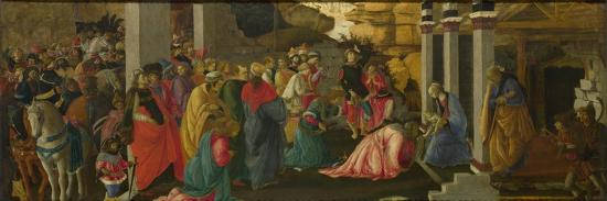 The Adoration of the Kings, Ca 1470-Sandro Botticelli-Giclee Print