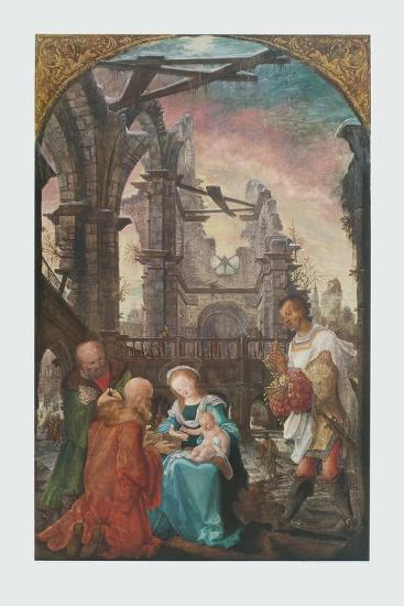 The Adoration of the Kings-Wolf Huber-Collectable Print