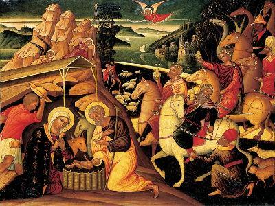 The Adoration of the Magi, 1500-25-Ioannis Permeniates-Giclee Print