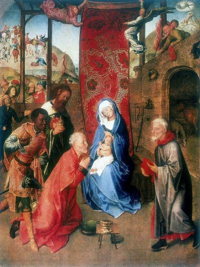 The Adoration of the Magi, 15th Century-Hugo van der Goes-Giclee Print