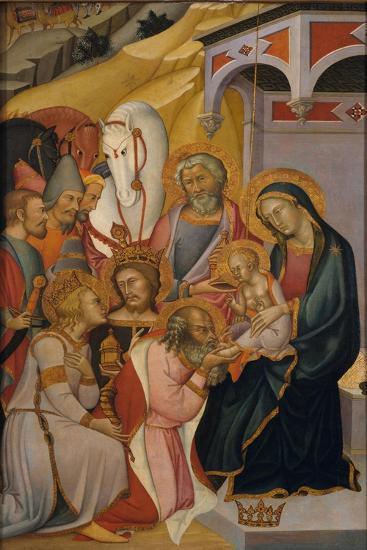 The Adoration of the Magi, c.1390-Also Manfredi De Battilori Bartolo Di Fredi-Giclee Print