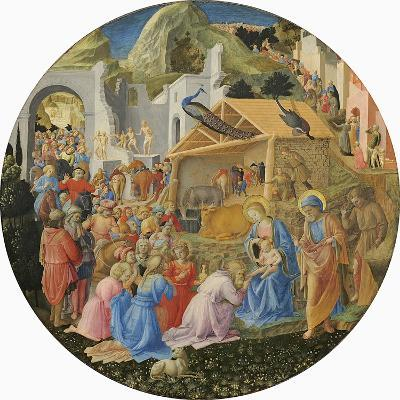 The Adoration of the Magi, C.1440-60-Fra Angelico-Giclee Print