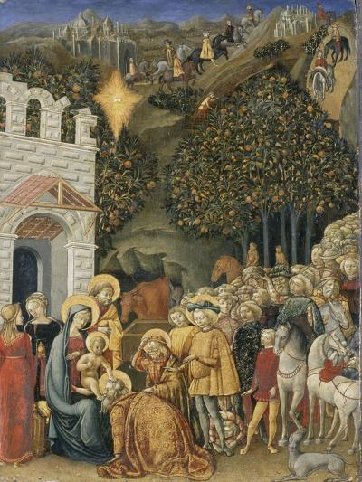 The Adoration of the Magi, C.1475-80--Giclee Print
