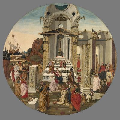 The Adoration of the Magi, C.1495-Raffaello Botticini-Giclee Print