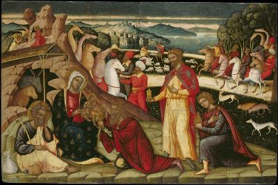 The Adoration of the Magi, C. 1525-Ioannis Permeniatis-Giclee Print
