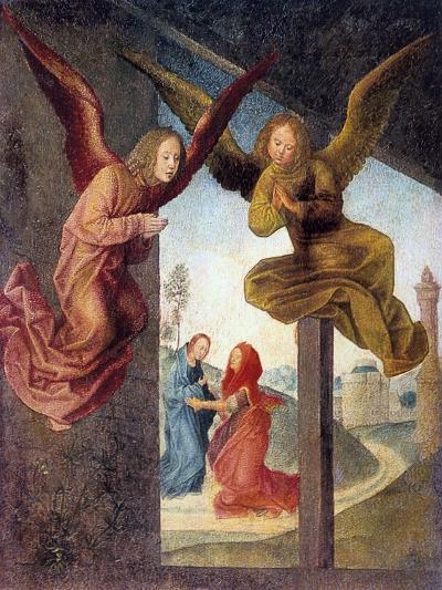 The Adoration of the Magi, Detail, 15th Century-Hugo van der Goes-Giclee Print