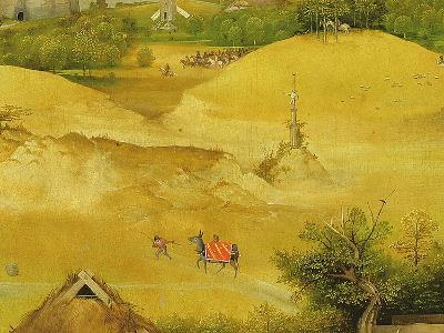 The Adoration of the Magi, Detail of Background Figures, 1510 (Detail of 3427)-Hieronymus Bosch-Giclee Print