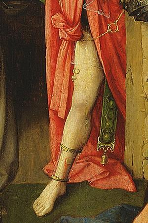 The Adoration of the Magi, Detail of the Antichrist, 1510 (Detail of 3427)-Hieronymus Bosch-Giclee Print
