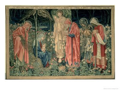 The Adoration of the Magi, Made by William Morris and Co., Merton Abbey-Burne-Jones & Morris-Giclee Print
