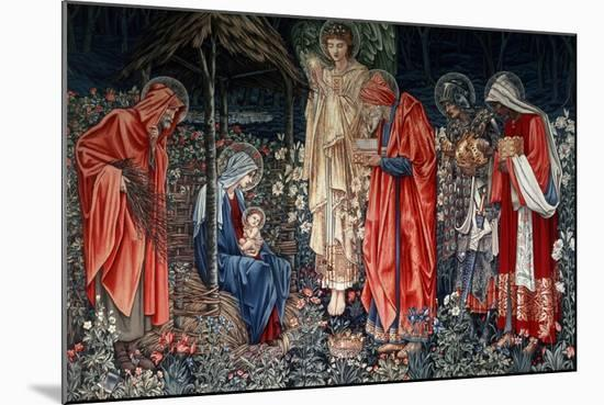 The Adoration of the Magi, Tapestry, 1890- Morris & Co-Mounted Premium Giclee Print