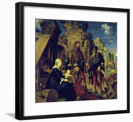 The Adoration of the Magi-Albrecht Dürer-Framed Giclee Print
