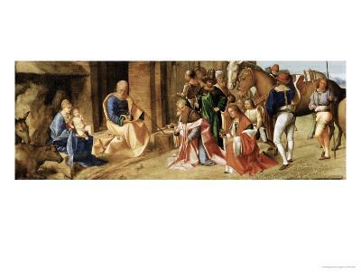 The Adoration of the Magi-Giorgione-Giclee Print