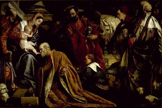 The Adoration of the Magi-Paolo Veronese-Giclee Print