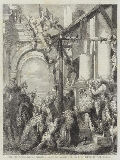 The Adoration of the Magi-Veronese-Giclee Print