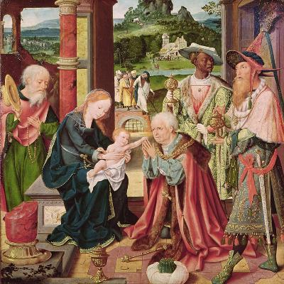 The Adoration of the Magi-Joos Van Cleve-Giclee Print