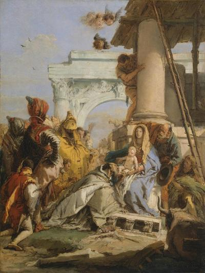 The Adoration of the Magi-Giovanni Battista Tiepolo-Giclee Print