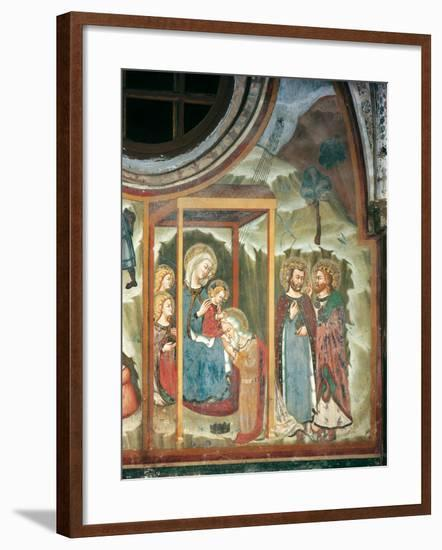 The Adoration of the Maji--Framed Giclee Print