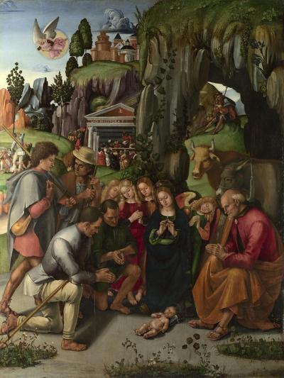 The Adoration of the Shepherds, C. 1496-Luca Signorelli-Giclee Print