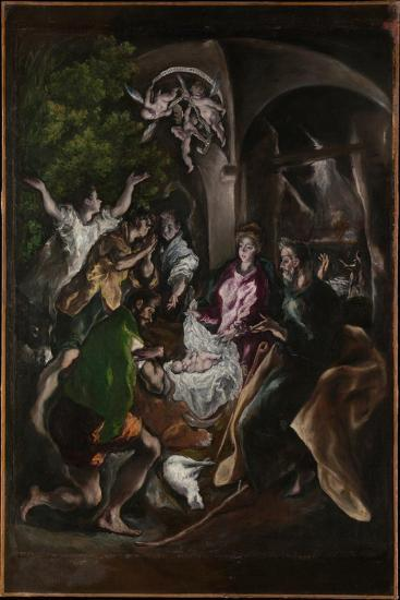 The Adoration of the Shepherds, c.1605-10-El Greco-Giclee Print