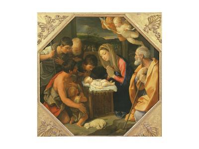 The Adoration of the Shepherds-Guido Reni-Giclee Print
