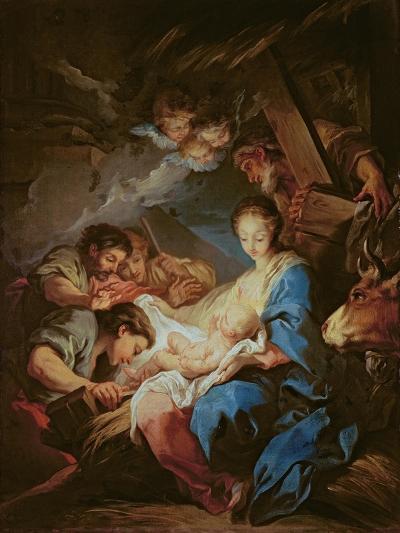 The Adoration of the Shepherds-Carle van Loo-Giclee Print
