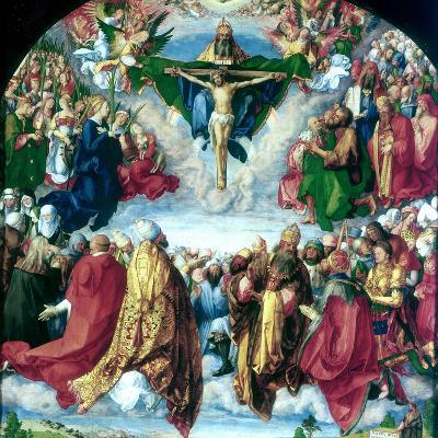 The Adoration of the Trinity (The Landauer Altarpiece), 1511-Albrecht Durer-Giclee Print