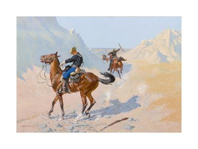 The Advance-Guard, or the Military Sacrifice (The Ambush), 1890-Frederic Remington-Giclee Print