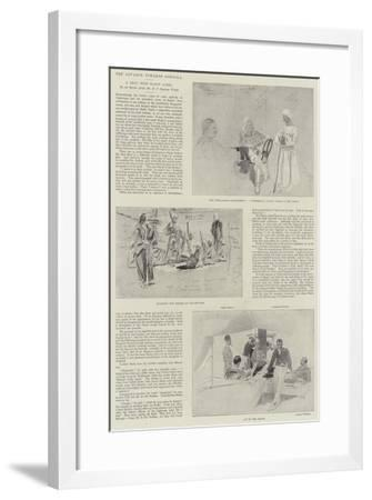 The Advance Towards Dongola-Henry Charles Seppings Wright-Framed Giclee Print