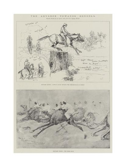 The Advance Towards Dongola-Henry Charles Seppings Wright-Giclee Print