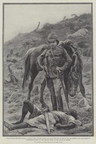 The Advance Towards Dongola-Richard Caton Woodville II-Giclee Print