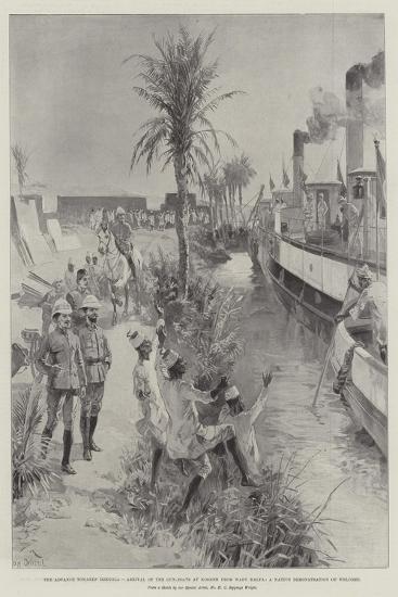 The Advance Towards Dongola-William Heysham Overend-Giclee Print
