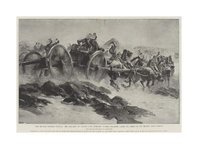 The Advance Towards Dongola-William Heysham Overend-Giclee Print