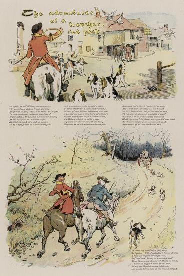 The Adventures of a Trencher-Fed Pack-Leghe Suthers-Giclee Print